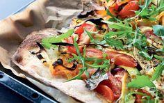 Nordisk grøntsagspizza