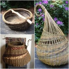 Image for Willow weaving - Organic Pod Baskets