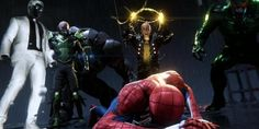'Marvel's Spider-Man's Peter Parker Reveals Villains He'd Like To See In Sequel Spiderman Movie, Amazing Spiderman, Skull Island, Gaming Wallpapers, Don't Speak, Good And Evil, Yin Yang, Apocalypse, Avengers