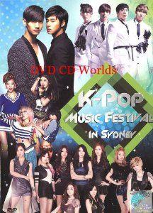 K-pop Music Festival in Sydney (2DVD)  Shinee, 2AM, Secret, Beast, Girl's Generation, 4Minute, CNBLUE $44.99