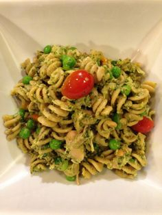Care's Chicken Pesto Pasta Salad