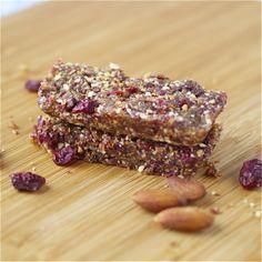 Cherry Pie Larabar ~ Gluten Free ~ I LOVE the original Cherry Pie Larabars, so HAVE to try this! Only 3 ingredients: almonds, dates, & cherries.