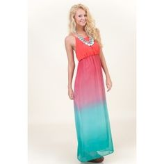 Come Fade Away Maxi Dress OMBRE!!! - Friends, this dress is sold out everywhere. I need it, be on the look out in all our fave boutiques & alert me if you see it! Thx - ABF