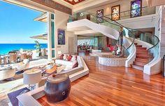 Beach mansion