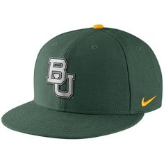 ee1d9e77f3e7f Men s Nike Green Baylor Bears True Reflective Snapback Adjustable Hat