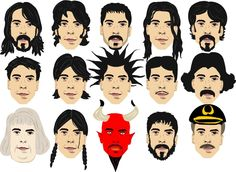 The Many Looks Of Dave Grohl by RandMHer08