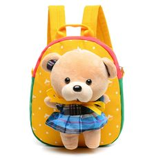 d0677af257 Cartoon Bear Infant Baby Girl Backpacks   Price   23.27  amp  FREE Shipping