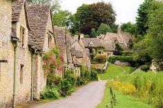 Beautiful villages bibury village england