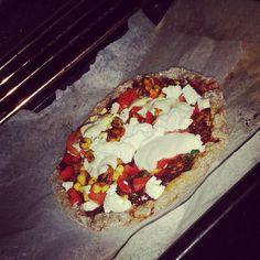 Fit Fast Food – pizza na owsianym spodzie. | HealthyVibes