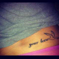 #4. Your love.  God<3