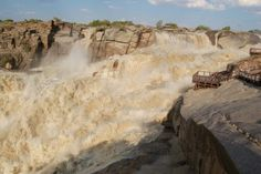 Discover the world through photos. Augrabies Falls, Waterfalls, South Africa, Mount Rushmore, Creatures, Around The Worlds, Mountains, Oceans, Rivers