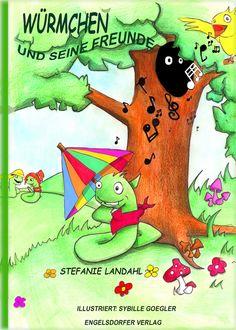 Kinderbuch Würmchen & seine Freunde  E_BOOK!!    hier biete ich das Buch als e-book Variante  heißt nach Geldeingang wird es dir via PDF-Komplettdatei