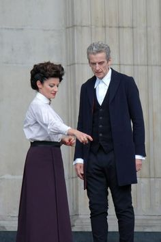 Missy and The Doctor.