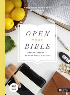 Latest Studies Open Your Bible by Raechel Myers and Amanda Bible Williams God's Word is for you and for now. In this 7-session study, you'll learn to engage, apply, and love Scripture. …