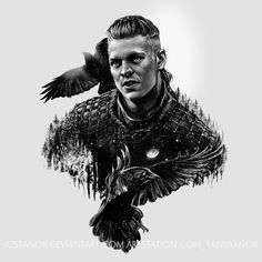 ArtStation - Ivar the Boneless, Tanya Anor