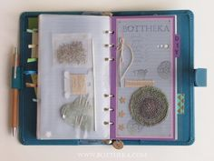 scrapbook, paper, crochet, linen, wool, mandala, stamp, filofax http://bottheka.com/en/15-16