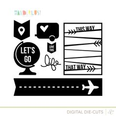 Sc pasión por los viajes cutlist