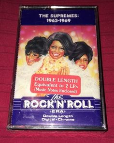 Time Life Music The Rock 'N' Roll Era The Supremes 1963 1969 Cassette New | eBay