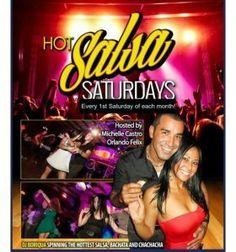 Hot Salsa Saturdays #SalsaClasses #Salsa #ballroomdance Salsa Dance Lessons, Salsa Classes, Hot Salsa, Salsa Dancing, Ballroom Dance, Orlando, Ballroom Dancing, Orlando Florida