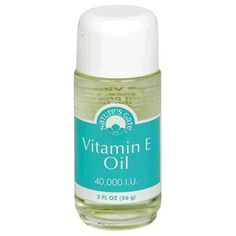 Nature's Gate Vitamin E Oil, 40, 000 I.U., 2-Ounce Bottles (Pack of 3)