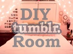DIY Tumblr Ideas for Room Décor