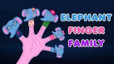 The Elephant Finger Family Nursery Rhyme Finger Family Song, Family Songs, Cake Pop, Nursery Rhymes, Elephant, Cupcakes, Halloween, Youtube, Collection