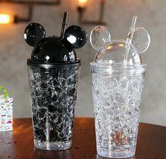 Cute Water Bottles, Drink Bottles, Girly Things, Cool Things To Buy, Copo Starbucks, Smoothie Cup, Disney Cups, Cute School Supplies, Cute Cups