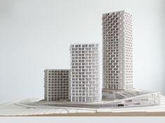 ruzinov middle income housing bratislava, slovakia by SERIE architects