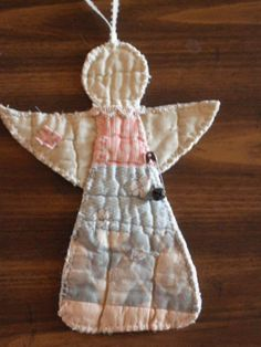 Primitive Angel Christmas Ornament- Vintage Quilt Handsewn 2019 Primitive Angel Christmas Ornament- Vintage Quilt Handsewn The post Primitive Angel Christmas Ornament- Vintage Quilt Handsewn 2019 appeared first on Quilt Decor. Quilted Christmas Ornaments, Christmas Sewing, Primitive Christmas, Christmas Angels, Christmas Projects, Handmade Christmas, Holiday Crafts, Christmas Crafts, Christmas Quilting