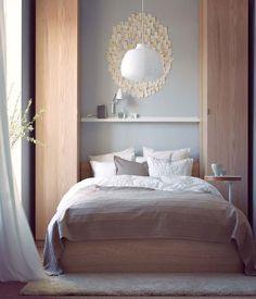Decoración dormitorio matrimonio pequeño