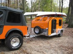 My idea of a perfect good time.  Let the good times roll.  Microlite Trailers