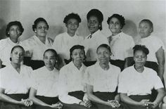 Members of the Gamma Pi Beta chapter of the Texas Association of Women's Clubs, early The Woman's Collection, Texas Woman's University. African Americans, African American Women, Women In History, Black History, Black Is Beautiful, Beautiful People, Denton Texas, Moving To Texas, Harriet Tubman