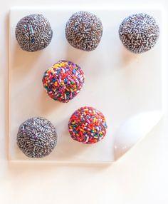 Brazilian Chocolate Truffles {Sprinkles! Quirk Books} | BoulderLocavore.com