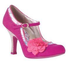 Ruby Shoo Shoe Poppy Pink Size 4
