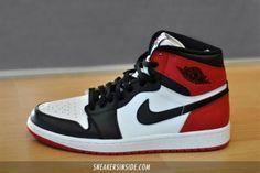 "NIKE AIR JORDAN 1 RETRO ""BLACK TOE"" #sneaker"
