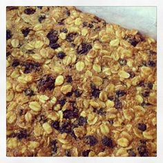 On the blog...Honey Oat Slice. Lunch Box Yummy at www.beesteesblog.com