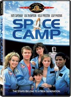 SpaceCamp (1986) explores every stereotypical gifted kid around, but in a funny way. It's not going to win any Academy Awards, but if you're looking for a fun family movie, this is a good one. Warning: it does have the sh** word in it. 1980's Movies, Space Movies, Movies Of The 80's, Great Movies, Movies To Watch, Movies And Tv Shows, Awesome Movies, Kelly Preston, Joaquin Phoenix