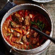 Slow+Cooker+Hearty+Beef+&+Vegetable+Casserole