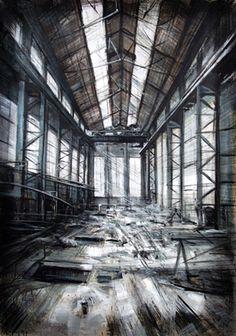 Abandoned Warehouse #2, 2010, Valerio D'Ospina