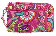 Pink Swirls | Zip Zip Wristlet