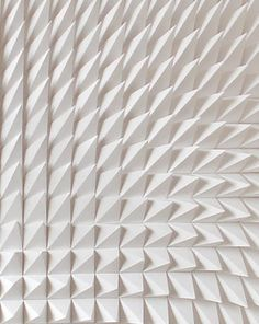 Recursive, white sculpture, detail _ by Matt Shlian _