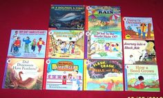 Lot 11 Science Let's Read and Find Out 11 books Ages 5-9 Teachers Homeschool