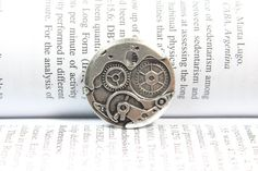 Gear Charm Gear Pendant Toothed Wheel Cog Wheel by serendipity678