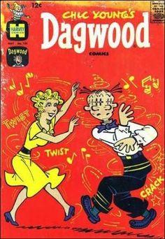 Dagwood Comics Vol 1 #126 May, 1962