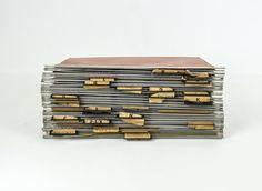 Set of Vintage Metal Hanging File Folders / by tawneyvintage, $29.00