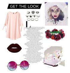 """Steal Her Look: Melanie Martinez (Melanie Martinez outfits)"" by antobiscuit on Polyvore featuring Janis, Rock 'N Rose and Lime Crime"