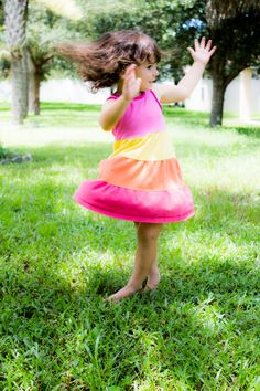 3 year old // photography // twirling