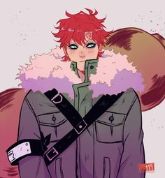 Gaara from Naruto! Comes in a luster finish. Naruto Gaara, Anime Naruto, Manga Anime, Naruto Shippuden Anime, Shikamaru, Itachi, Anime Boys, Wallpapers Naruto, Animes Wallpapers