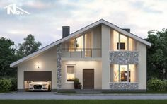 51 Ideas For Exterior House Bungalow Home Plans Modern Bungalow Exterior, Modern Bungalow House, Bungalow House Plans, Bungalow Homes, Dream House Exterior, Modern House Plans, Small House Design, Dream Home Design, Modern House Design