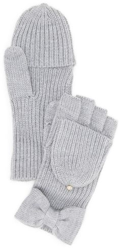 Kate Spade New York Solid Bow Pop Top Gloves, gift guide, gifts under $100,  gifts under $50, holidays, holiday gift, holiday gift guide